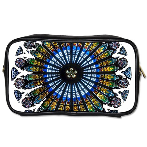 Rose Window Strasbourg Cathedral Toiletries Bags 2-Side