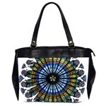 Rose Window Strasbourg Cathedral Office Handbags (2 Sides)  Front