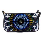 Rose Window Strasbourg Cathedral Shoulder Clutch Bags Front