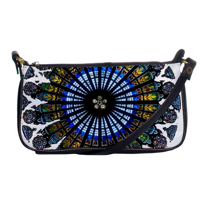 Rose Window Strasbourg Cathedral Shoulder Clutch Bags