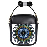 Rose Window Strasbourg Cathedral Girls Sling Bags Front