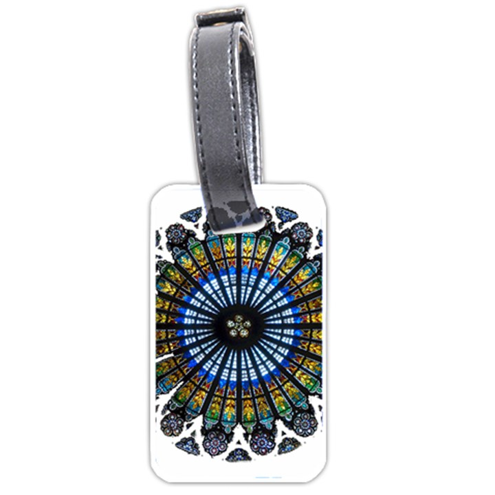 Rose Window Strasbourg Cathedral Luggage Tags (Two Sides)
