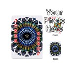 Rose Window Strasbourg Cathedral Playing Cards 54 (Mini)  Front - Joker2