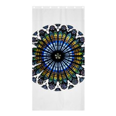 Rose Window Strasbourg Cathedral Shower Curtain 36  x 72  (Stall)