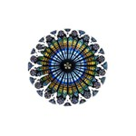 Rose Window Strasbourg Cathedral Shower Curtain 48  x 72  (Small)  42.18 x64.8 Curtain