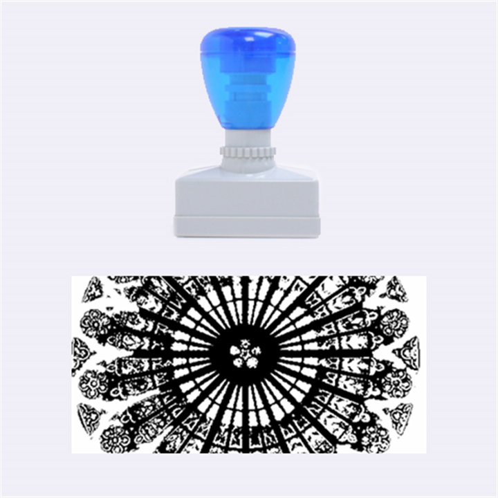 Rose Window Strasbourg Cathedral Rubber Stamps (Medium)
