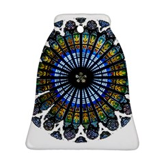 Rose Window Strasbourg Cathedral Ornament (Bell)
