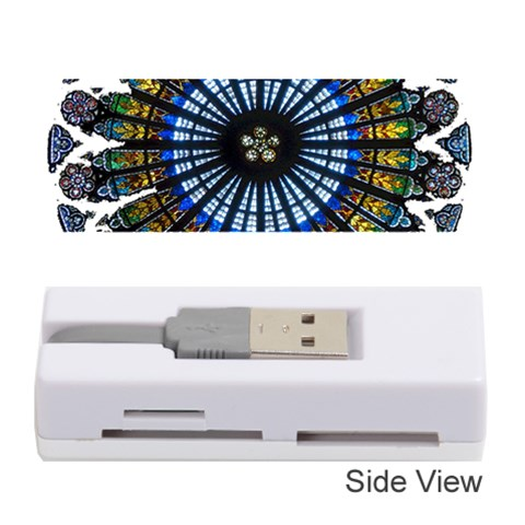 Rose Window Strasbourg Cathedral Memory Card Reader (Stick)