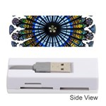 Rose Window Strasbourg Cathedral Memory Card Reader (Stick)  Front