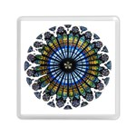 Rose Window Strasbourg Cathedral Memory Card Reader (Square)  Front
