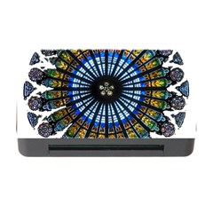 Rose Window Strasbourg Cathedral Memory Card Reader with CF