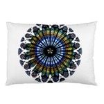 Rose Window Strasbourg Cathedral Pillow Case (Two Sides) Back