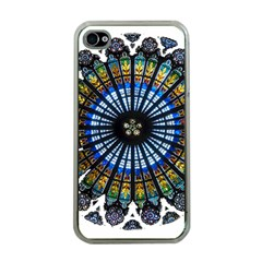 Rose Window Strasbourg Cathedral Apple iPhone 4 Case (Clear)