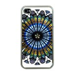 Rose Window Strasbourg Cathedral Apple iPhone 4 Case (Clear) Front