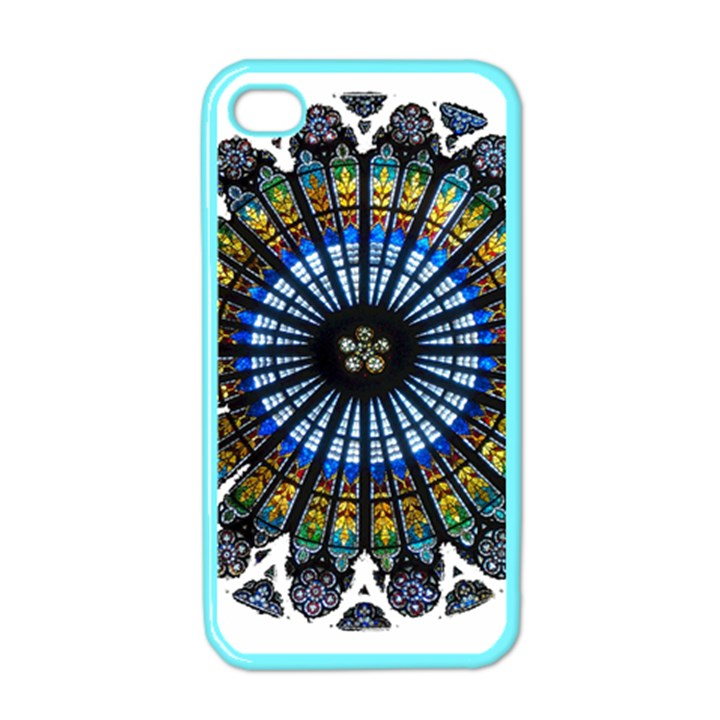 Rose Window Strasbourg Cathedral Apple iPhone 4 Case (Color)