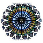 Rose Window Strasbourg Cathedral Deluxe Canvas 14  x 11  14  x 11  x 1.5  Stretched Canvas
