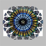 Rose Window Strasbourg Cathedral Deluxe Canvas 18  x 12   18  x 12  x 1.5  Stretched Canvas