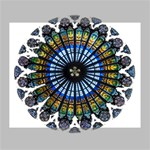 Rose Window Strasbourg Cathedral Deluxe Canvas 20  x 16   20  x 16  x 1.5  Stretched Canvas