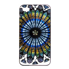 Rose Window Strasbourg Cathedral Apple iPhone 4/4s Seamless Case (Black)