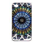 Rose Window Strasbourg Cathedral Apple iPhone 4/4s Seamless Case (Black) Front