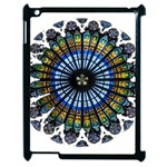 Rose Window Strasbourg Cathedral Apple iPad 2 Case (Black) Front