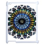 Rose Window Strasbourg Cathedral Apple iPad 2 Case (White) Front