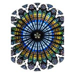 Rose Window Strasbourg Cathedral BOY 3D Greeting Card (7x5) Inside