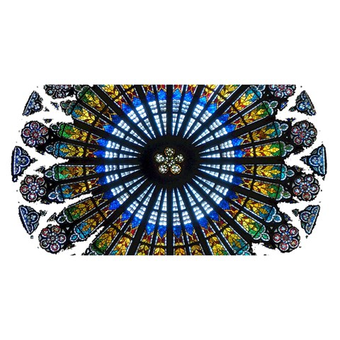 Rose Window Strasbourg Cathedral YOU ARE INVITED 3D Greeting Card (8x4)