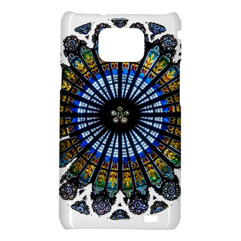 Rose Window Strasbourg Cathedral Samsung Galaxy S2 i9100 Hardshell Case
