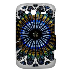 Rose Window Strasbourg Cathedral HTC Wildfire S A510e Hardshell Case