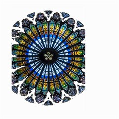 Rose Window Strasbourg Cathedral Large Garden Flag (Two Sides)