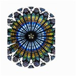 Rose Window Strasbourg Cathedral Large Garden Flag (Two Sides) Front