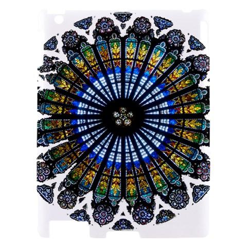 Rose Window Strasbourg Cathedral Apple iPad 2 Hardshell Case