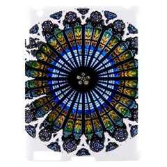 Rose Window Strasbourg Cathedral Apple iPad 2 Hardshell Case (Compatible with Smart Cover)