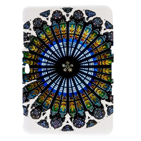 Rose Window Strasbourg Cathedral Samsung Galaxy Tab 8.9  P7300 Hardshell Case