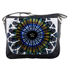 Rose Window Strasbourg Cathedral Messenger Bags