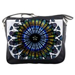 Rose Window Strasbourg Cathedral Messenger Bags Front