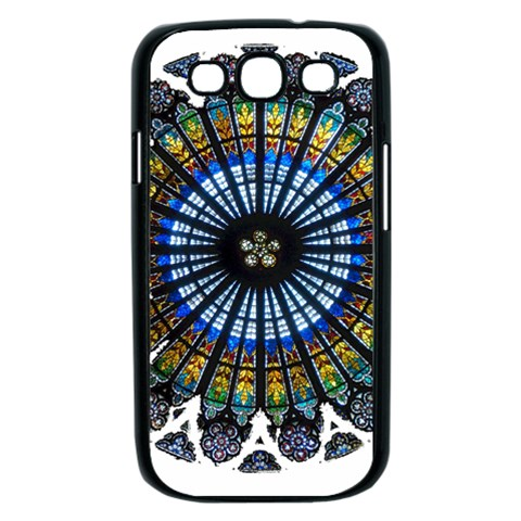 Rose Window Strasbourg Cathedral Samsung Galaxy S III Case (Black)