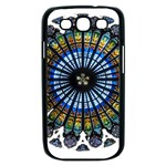 Rose Window Strasbourg Cathedral Samsung Galaxy S III Case (Black) Front