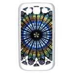 Rose Window Strasbourg Cathedral Samsung Galaxy S III Case (White) Front