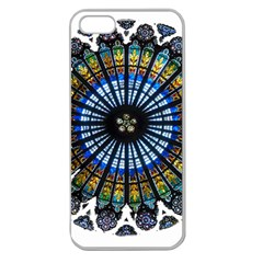 Rose Window Strasbourg Cathedral Apple Seamless iPhone 5 Case (Clear)