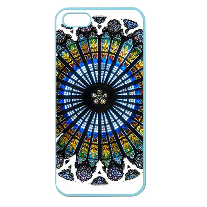 Rose Window Strasbourg Cathedral Apple Seamless iPhone 5 Case (Color)