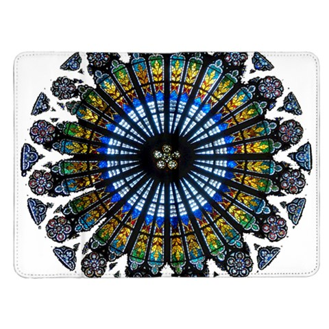 Rose Window Strasbourg Cathedral Kindle Fire (1st Gen) Flip Case