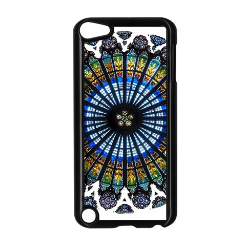 Rose Window Strasbourg Cathedral Apple iPod Touch 5 Case (Black)