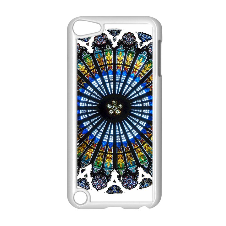 Rose Window Strasbourg Cathedral Apple iPod Touch 5 Case (White)