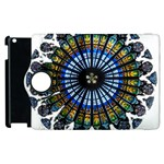 Rose Window Strasbourg Cathedral Apple iPad 3/4 Flip 360 Case Front