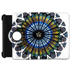 Rose Window Strasbourg Cathedral Kindle Fire HD Flip 360 Case