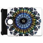 Rose Window Strasbourg Cathedral Kindle Fire HD Flip 360 Case Front