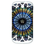 Rose Window Strasbourg Cathedral Samsung Galaxy S3 S III Classic Hardshell Back Case Front