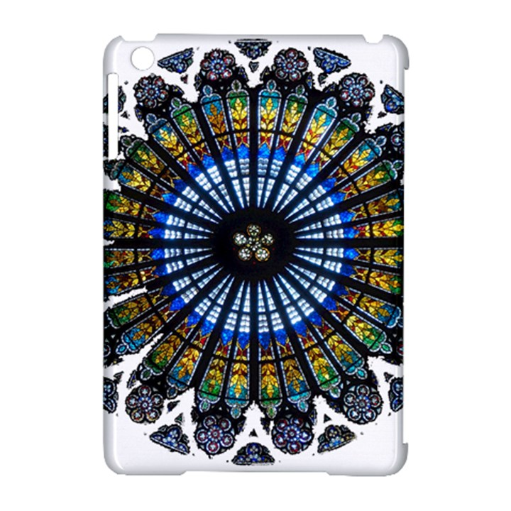 Rose Window Strasbourg Cathedral Apple iPad Mini Hardshell Case (Compatible with Smart Cover)